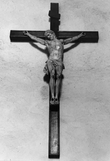 crucifix, bois, 18e siècle