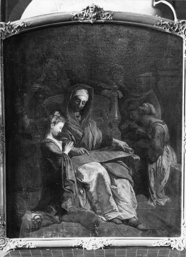 Tableau : l'Education de la Vierge