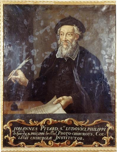 Tableau : Portrait de Jean Pitard