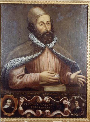 Tableau : Portrait de Claude Gallien