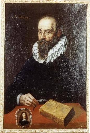 Tableau, cadre : Portrait de Pareus