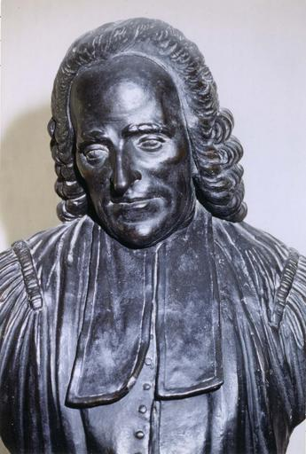 Buste de Pothier, terre cuite, deuxième moitié du 18e siècle