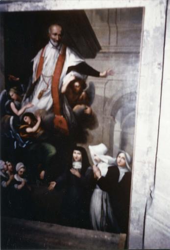 Tableau : Saint Vincent de Paul, 18e siècle