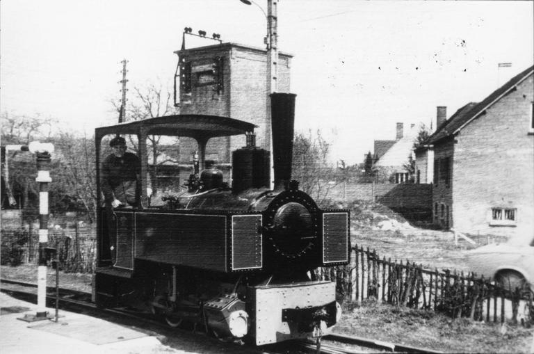 Locomotive à vapeur Decauville type 3 type 020, à deux essieux, 1905