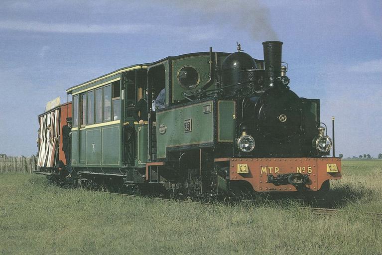 Locomotive type 030 T N°5, 1902