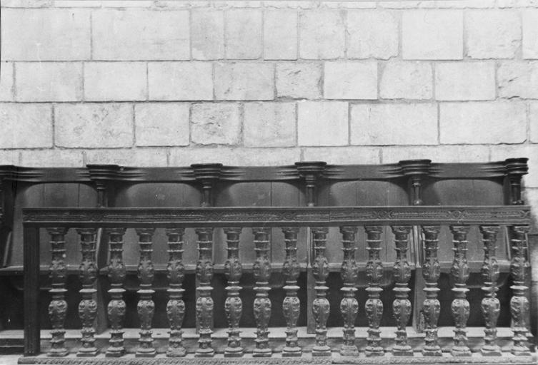 Clôture liturgique (appui de communion)