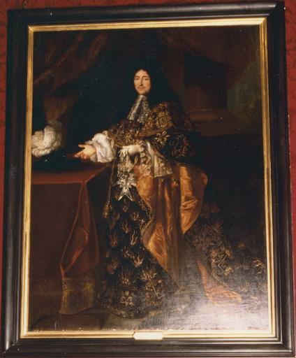 Tableau : Hippolyte de Béthune, huile sur toile, 17e-18e siècles