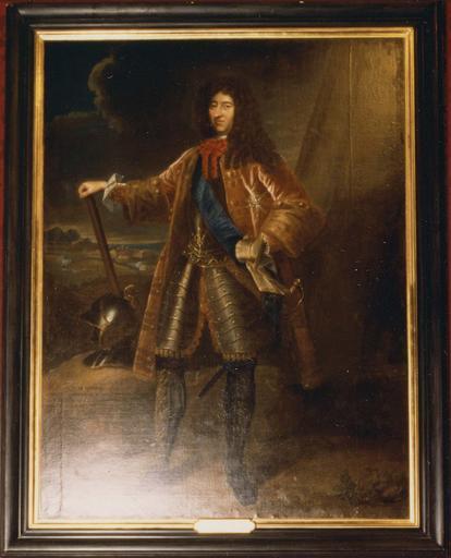 Tableau : François-Gaston de Béthune, huile sur toile 17e-18e siècle