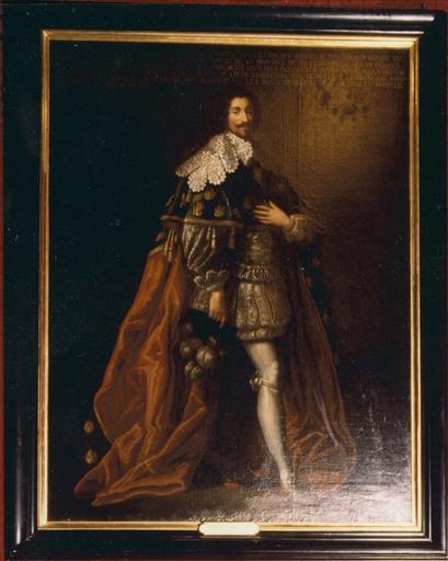 Tableau : François de Béthune, duc d'Orval, huile sur toile, 17e-18e siècle