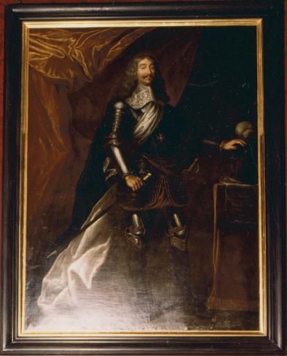 Tableau : Louis de Béthune, duc de Charost, huile sur toile, 17e-18e siècle