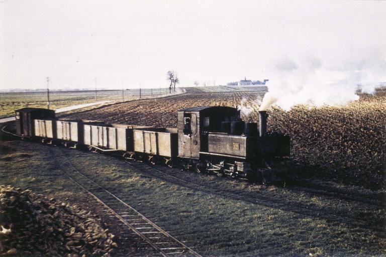 Locomotive à vapeur type 131T N°22, exemple N°3.22 TPT, 1916