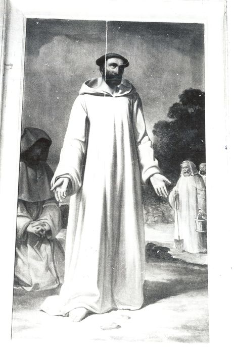 Tableau : Saint Bernard