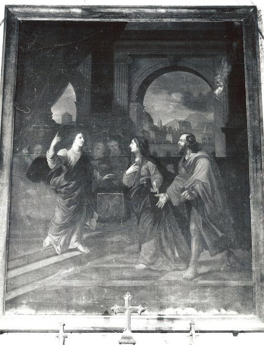 Tableau : Le Christ au Temple