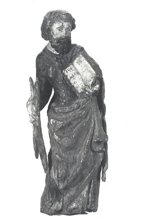 statue (statuette) de bâton de procession : Saint André (?)