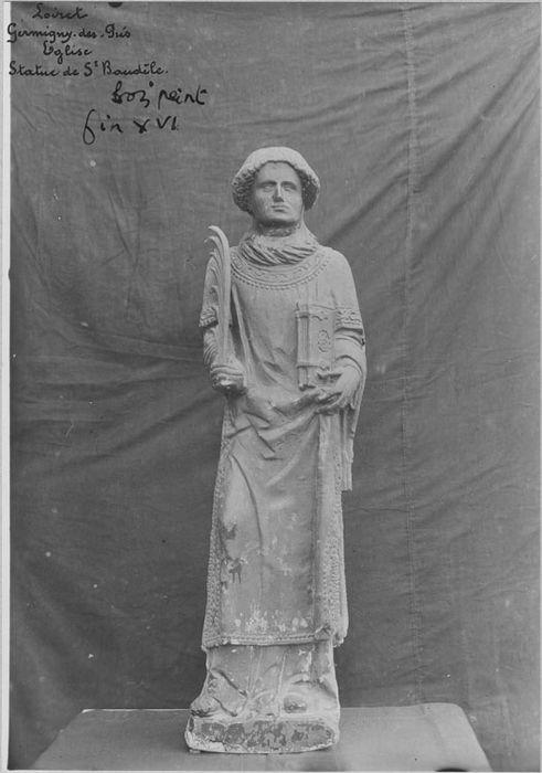 Statue : saint Baudèle