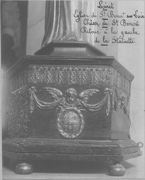 châsse de saint Benoît, détail