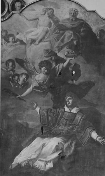 Tableau : la Vision de saint Etienne