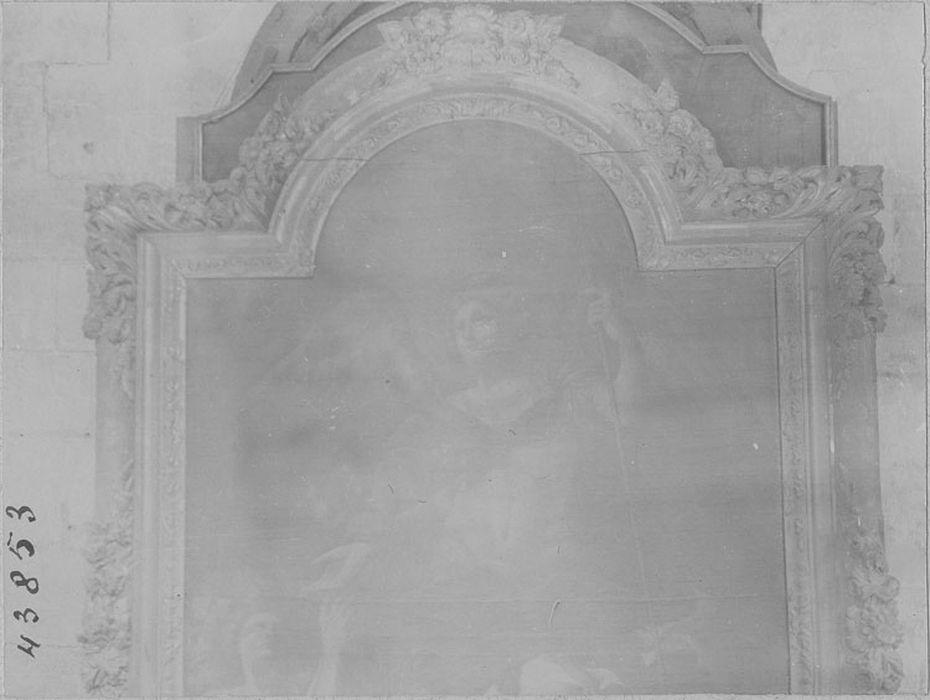 tableau: Saint Michel terrassant le dragon, cadre n°1