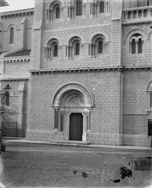 Transept, extérieur
