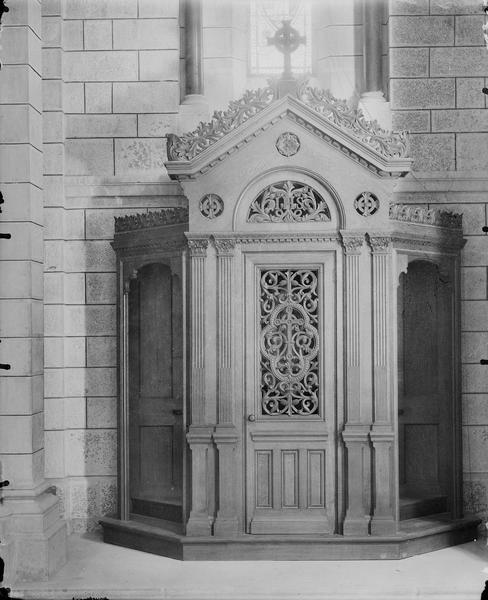 Intérieur, confessionnal