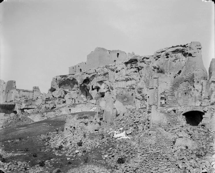 Vue d'ensemble des ruines