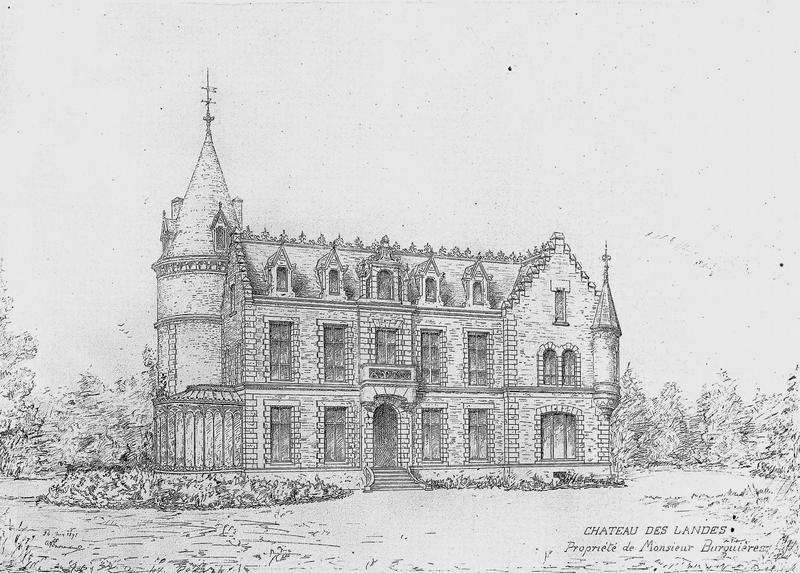 Gravure, façade