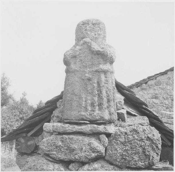 Statue dite statue-menhir, vue générale