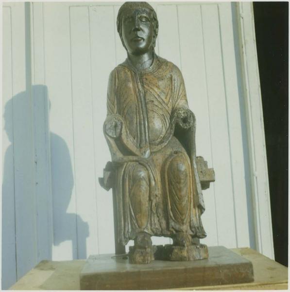 Statue : Vierge en majesté, vue générale