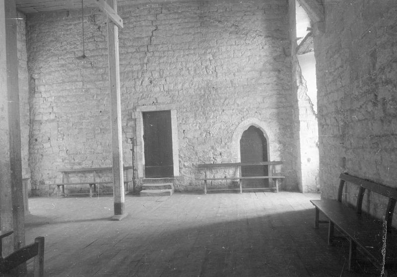 Château comtal, intérieur : bâtiment entre les cours d'Honneur et du Midi, grande salle
