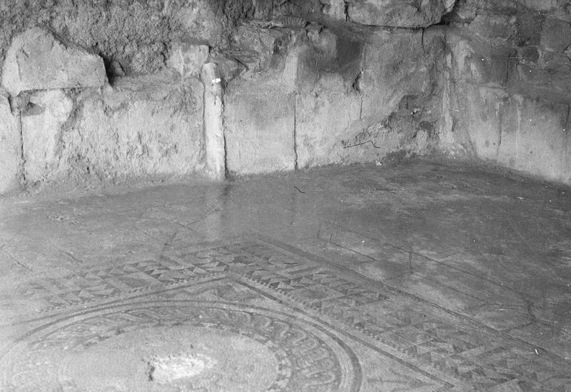 Mosaïque de pavement (vestiges)