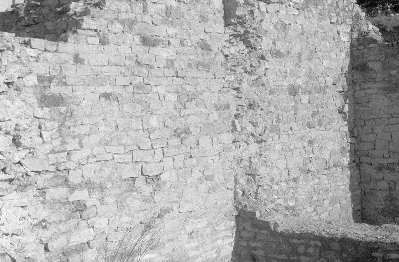 Capitole romain : mur (vestiges)