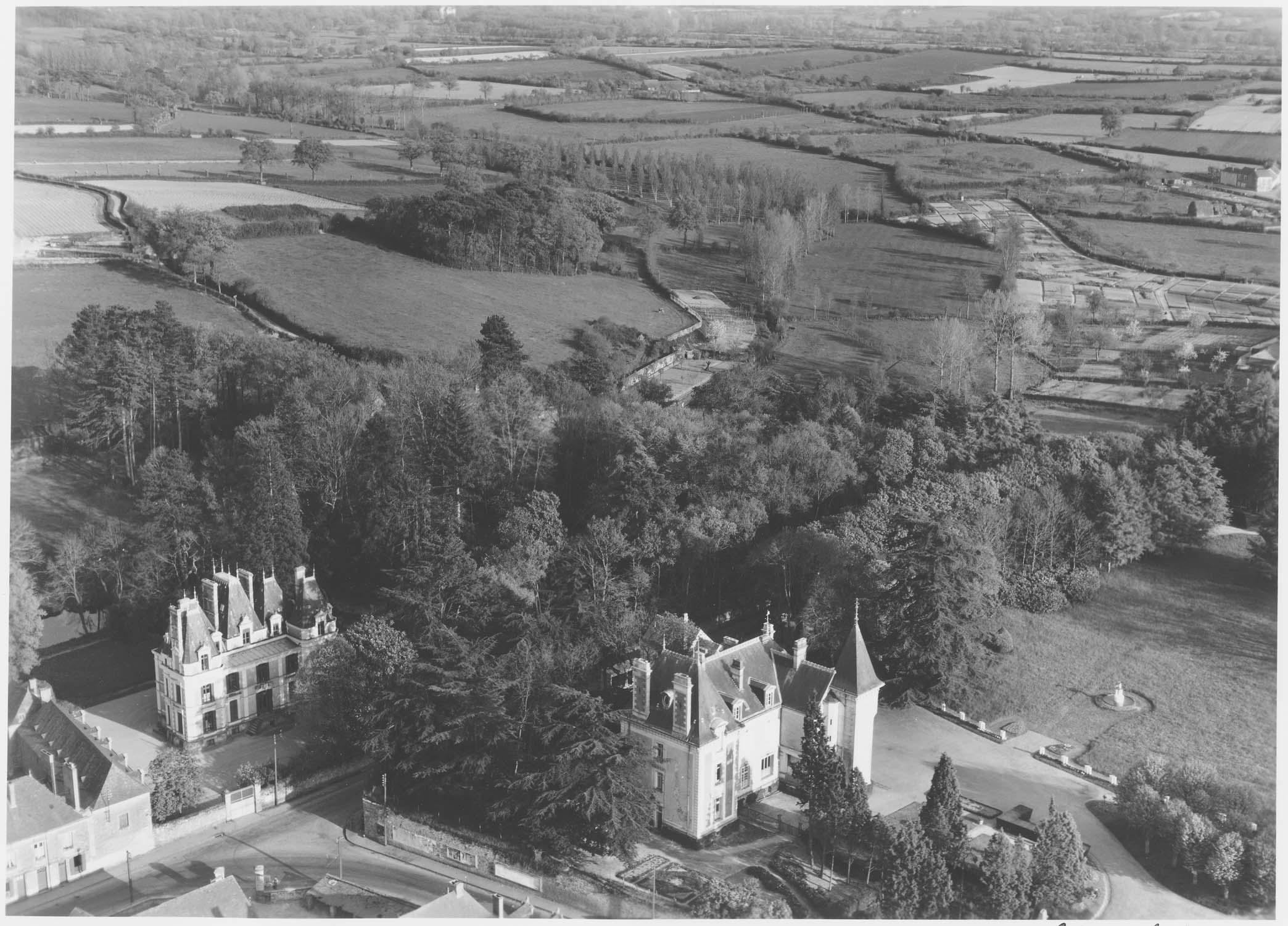 Propriété du château de La Saulaie
