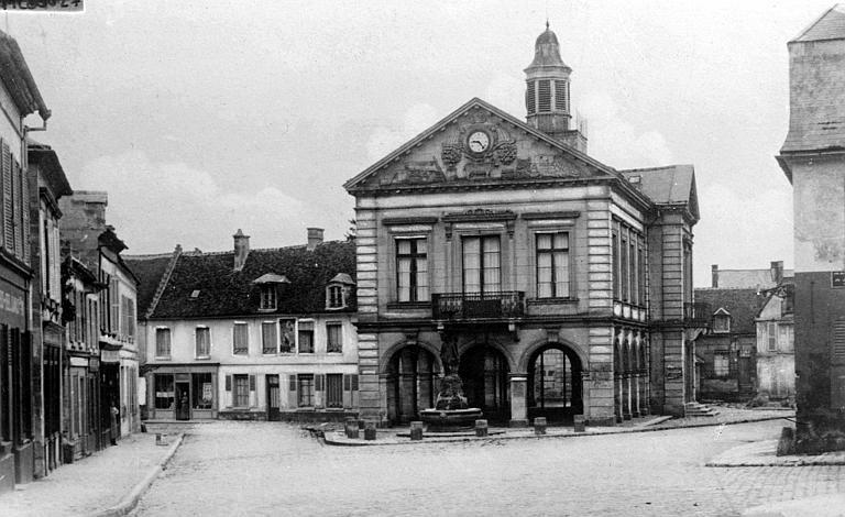 Place du marché, avant la guerre