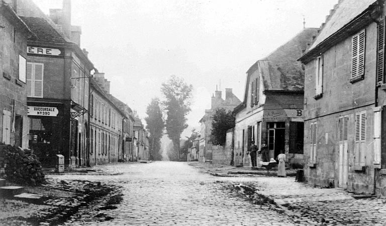 La rue de Compiègne, avant la guerre