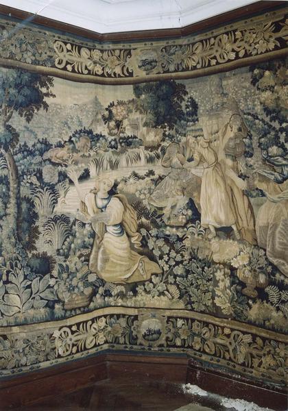Pièce murale : la mort d'Eurydice, vue partielle