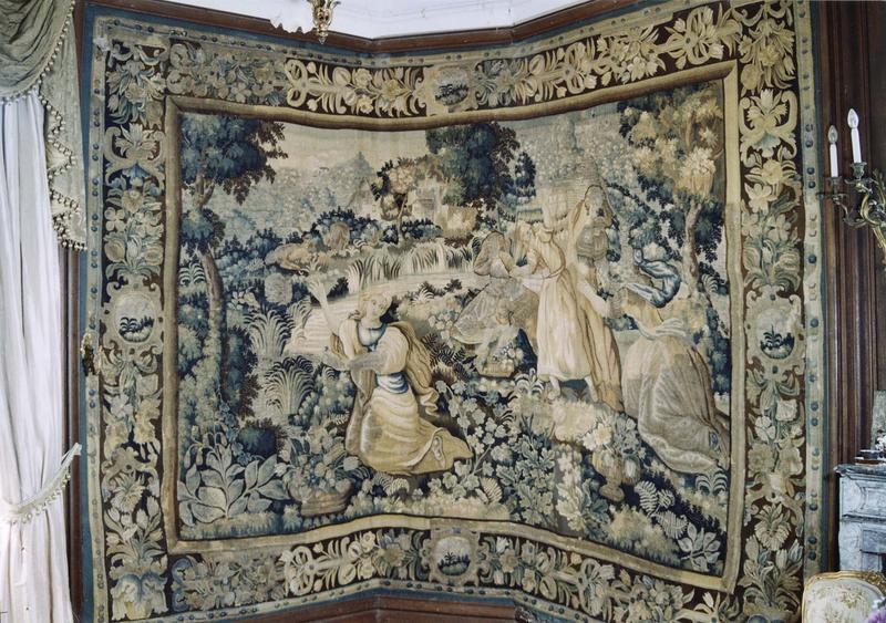 Pièce murale : la mort d'Eurydice, vue générale