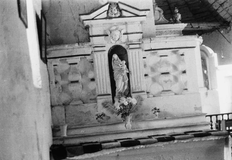 Retable-chaire à prêcher de la Vierge, vue générale