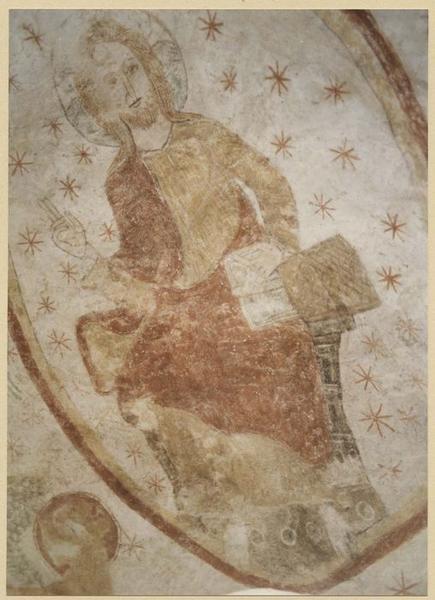 abside ; peintures murales