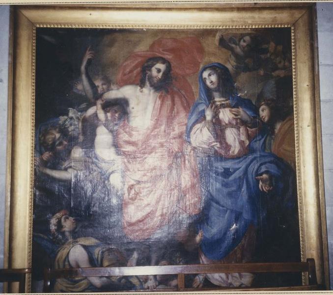 Tableau : le Triomphe de la Vierge