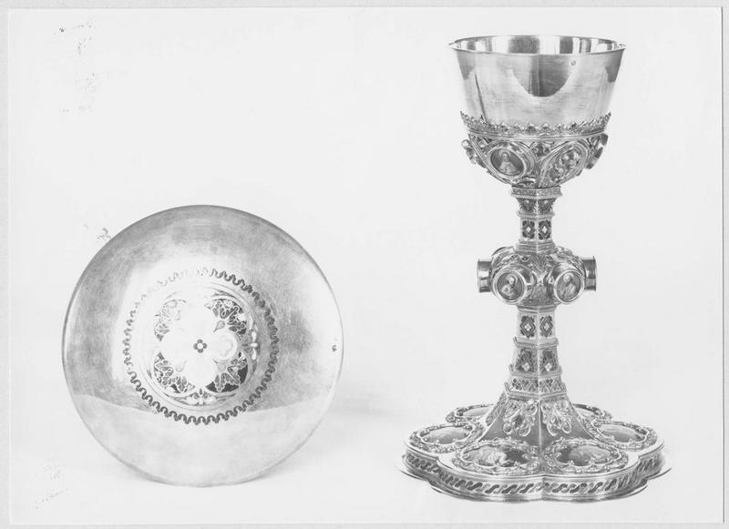Calice et patène de M. le chanoine Massonneau (1814-1894)