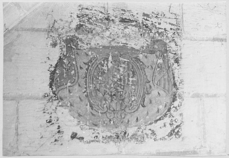 Peintures monumentales : Saint Roch, la Charité de saint Martin, Saint Sébastien, Saint évêque, le Martyre de saint Blaise