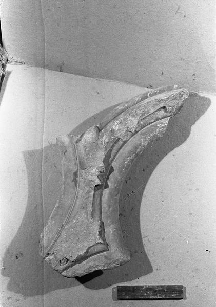 Jubé du 13e siècle, fragment