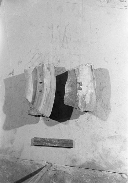 Jubé du 13e siècle, fragments
