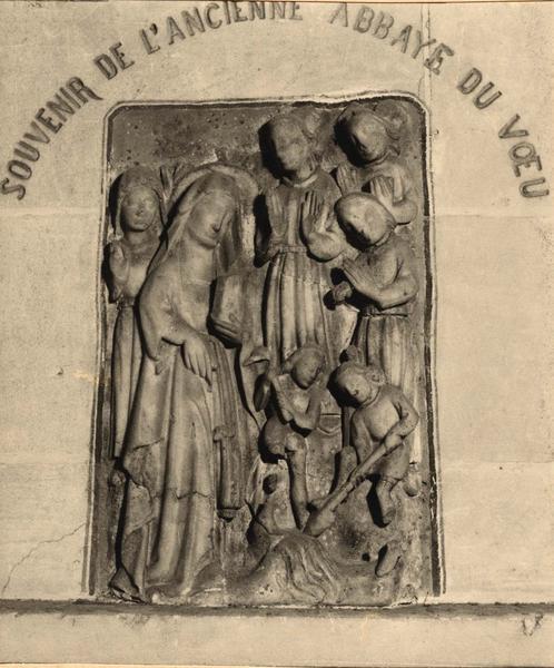 Bas-relief : Vie de l'impératrice Mathilde ou La Découverte de la Vraie Croix par sainte Hélène