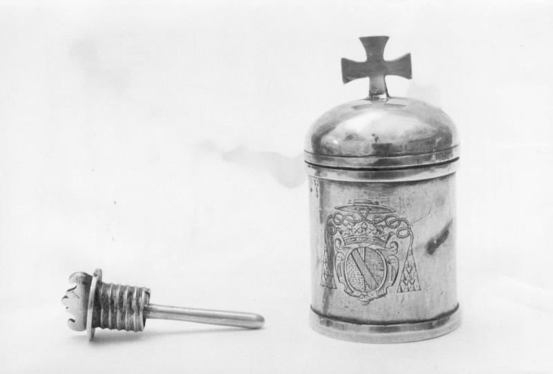 Ampoule à huile des catéchumènes