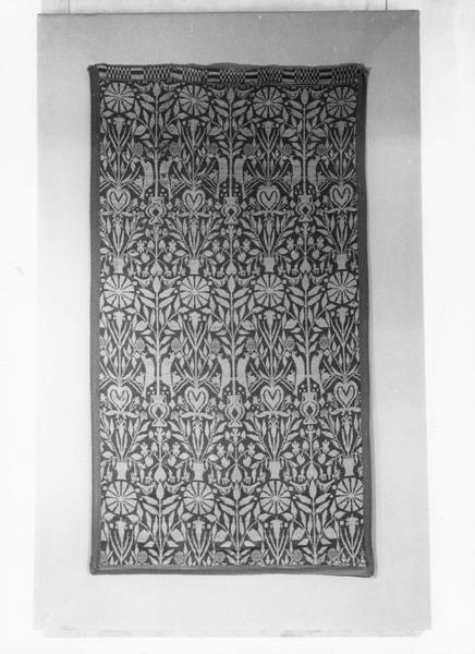 7 pièces murales dites Bergames de Rouen