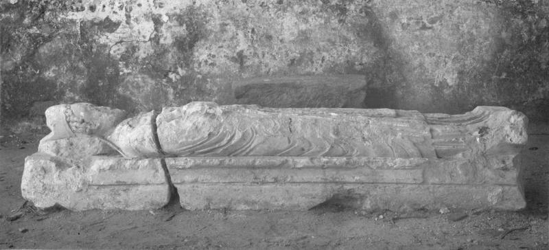 Statue (gisant) : Richard de Subligny