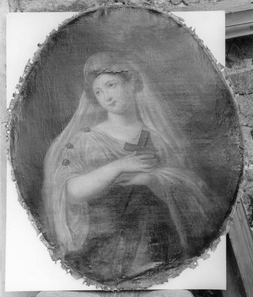 tableau : sainte Hélène, vue générale