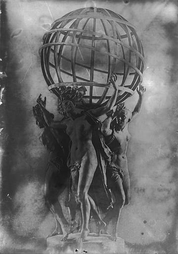 Groupe sculpté : Les quatre parties du monde