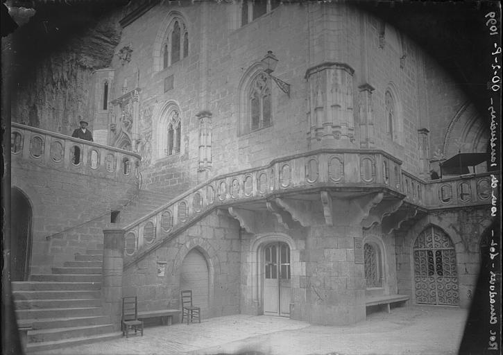 Eglise Saint-Sauveur et crypte Saint-Amadour